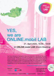 Plakat: YES, we are ONLINE!