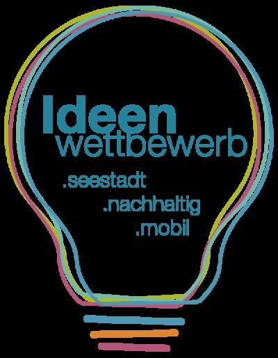 Logo: Ideenwettbewerb - Seestadt, nachhaltig, mobil