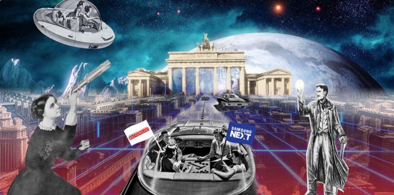 Grafik zur Samsung NEXT-Konferenz in Berlin