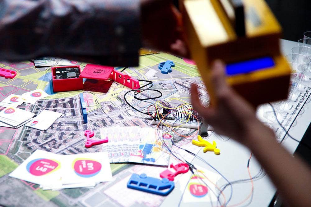 Aufbau AML auf den Smart City Open Days