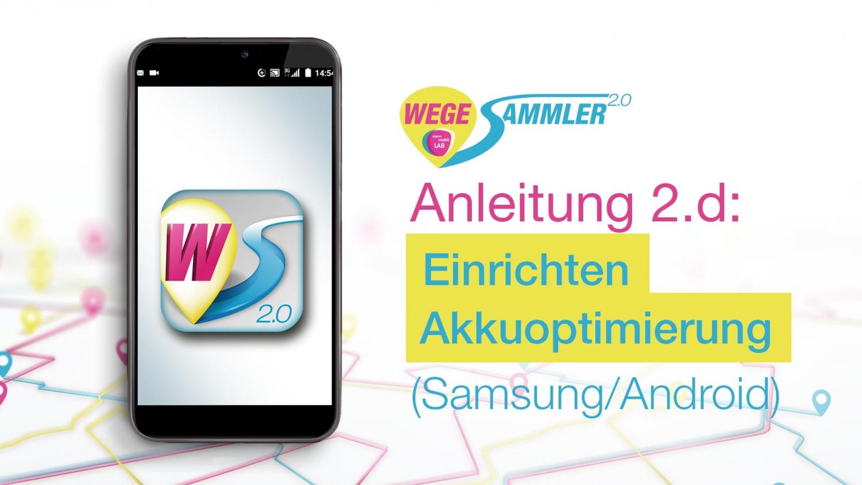Samsung - Akkuoptimierung